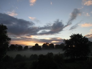 Anthony J Sargeant photographed the dawn on 2nd September 2015